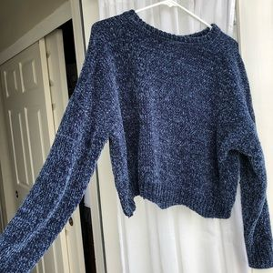 Super soft blue sweater Nasty Gal